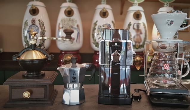 Zubehör für die Kaffeezubereitung