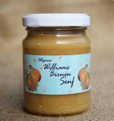 Hausgemachter Senf aus besten Zutaten Williams-Birnen Senf